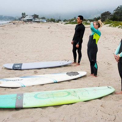 We offer surf lessons for all ages and skill levels.