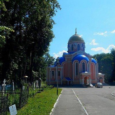 Воскресенский Некрополь в Ульяновске.