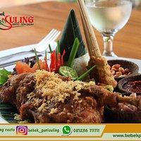 Crispy Duck a'la Bebek Puri Suling Resto in Goa Gajah, Ubud