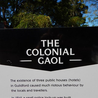 Colonial Gaol And Taylor's House
