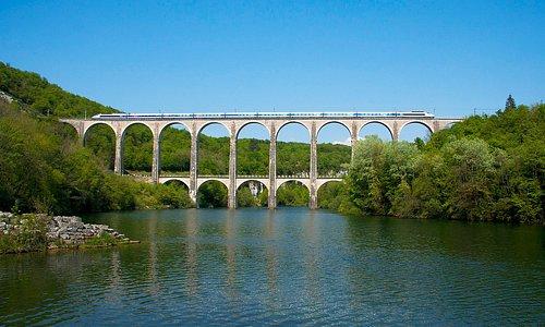 Der Cize-Bolozon-Viadukt