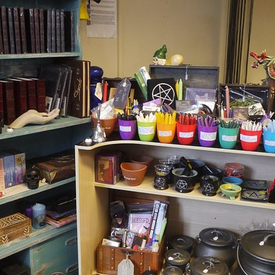 we also stock pagan/wicca items