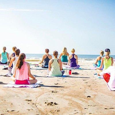 Folly Beach Yoga with Serenity Tree Yoga