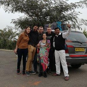 Kumar un excellent chauffeur