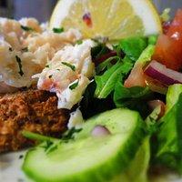 Cleggan Bay Crab Meat Salad