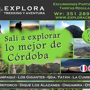 Explora CBA, Trekking y Aventura en Córdoba.