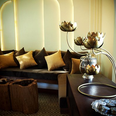 Interior Decoration Kesor Spa Lounge