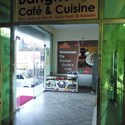 Bangkok Cafe and Korean Uncle's cafe