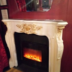 Wecoming fireplaces on chilly winter nights.