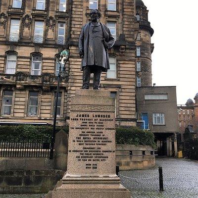 James Lumsden Statue