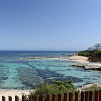 """The view over Calo de S""""Alga"""