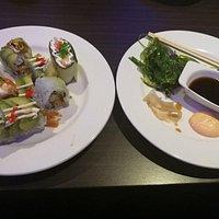 Futomaki Ebi Tempura / insideout rolls, lækkert for en buffet