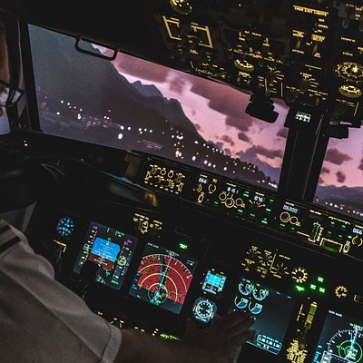 Landing at Innsbruck (LOWI)