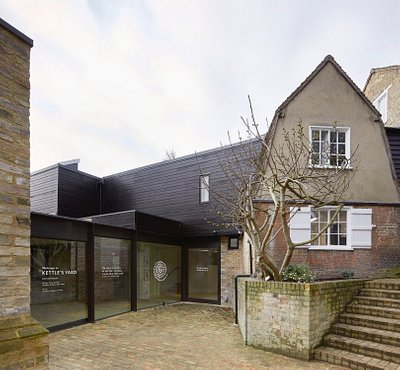 Entrance to Kettle's Yard, Jamie Fobert Architects, Hufton + Crow, 2018