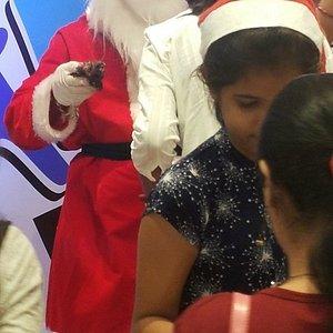 Santa in the Mall!