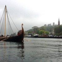 Saga Oseberg i Tønsberg Havn