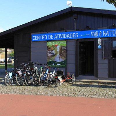 O nosso Centro de Atividades de Rio e Natureza!