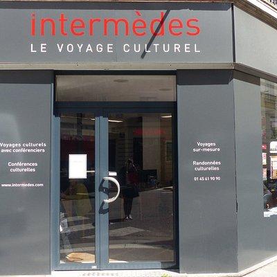 Agence : 10 rue de Mézières, 75 006 Paris - Horaires sur www.intermedes.com
