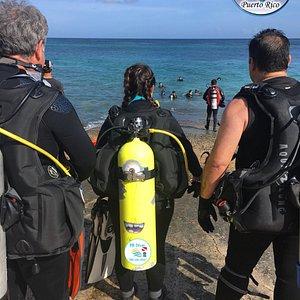 Shore Dive Los Tubos Manati, Puerto Rico