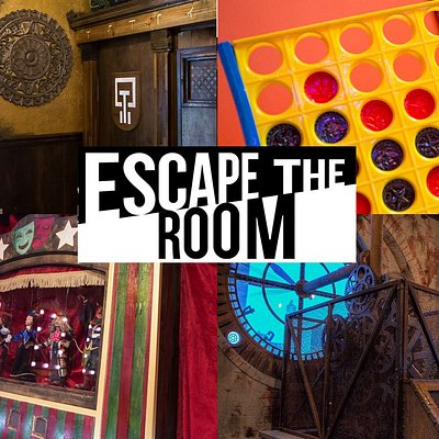 Escape the Room offers five games to choose from!