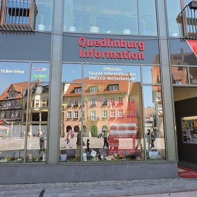 Quedlinburg Information, Quedlinburg, Alemania.