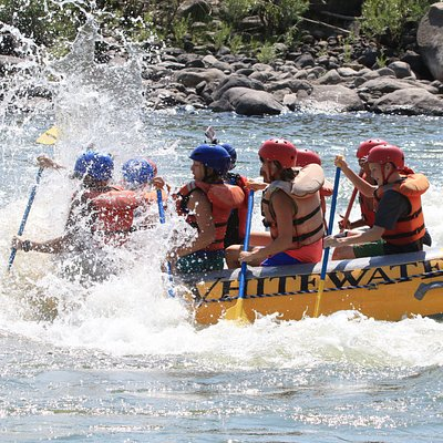 Rafting on the Yellowstone River