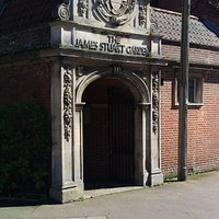 James Stuart entrance
