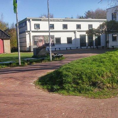 Het bezoekerscentrum NP -Schiermonnikoog met z'n prachtige expositie van het NP -Schiermonnikoog