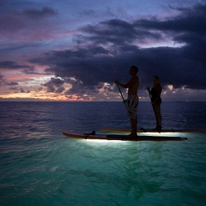 The best way to end a day is the Twilight GLOW paddle