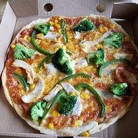 Yummy fresh pizza