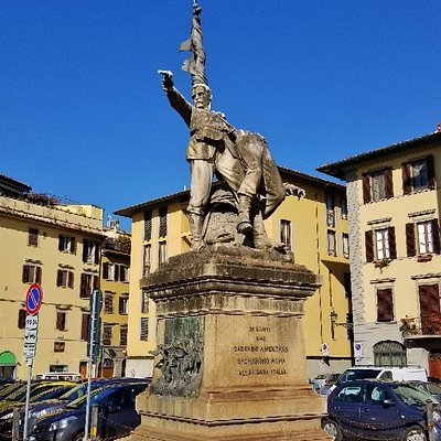 Monument for the battle of Mentana
