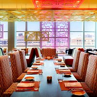 Les Cuisines Restaurant from traditional French cuisine to Asian specialties and Arabic dishes.