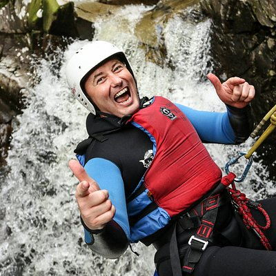 Big Buzz Canyoning in Falls of Bruar
