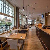 Wnętrze restauracji Nowosopockiej:)