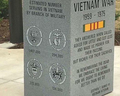 Monument at Vietnam Replica Wall