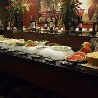 Salad Bar - one side