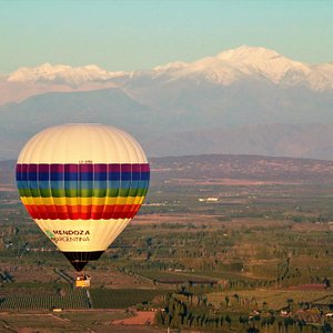Vuelos en globo en Mendoza