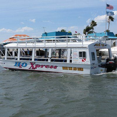 The Dolphin and Manatee tour boat