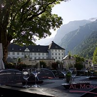 Just the breathtaking view from our sunny terrace. Visit us for a delicious meal or an aperitif!