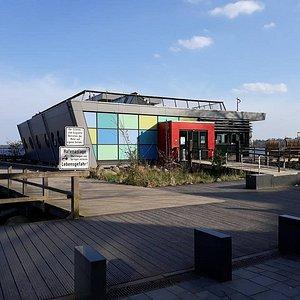 Eckernfoerde Stadthafen, Eckernförde, Alemania.