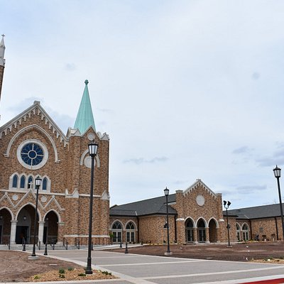 Beautiful Front of St. Francis (still needs landscaping