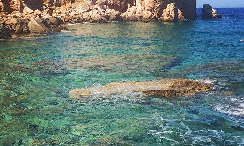 Beach of Poulati