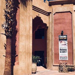 Retrouvez nous à Marrakech, au Domaine de Chrifia, 200m avant Oasiria !