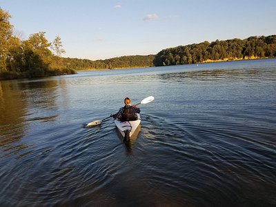 Kakaying on Pleasant Hill Lake, launched form the new area