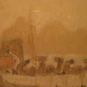 Selling fine paintings as works of Zoran Mušič