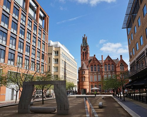 Ikon gallery from across Oozells Square.
