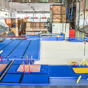 Overall view of the Gymnastics Centre