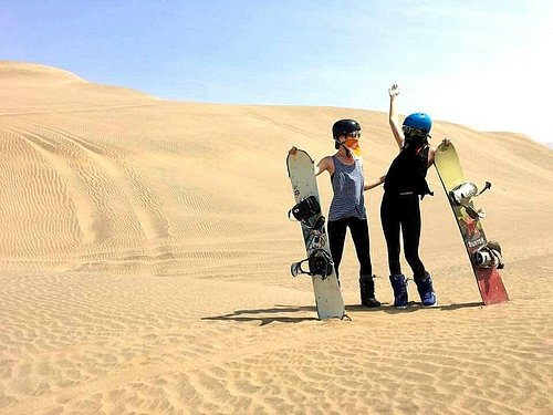 Sandboarding Lima