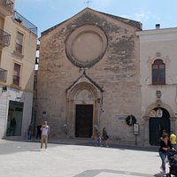 La facciata di san Domenico