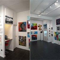 Fleek Gallery, Ilfracombe, Art Gallery, North Devon, Devon, Workshops